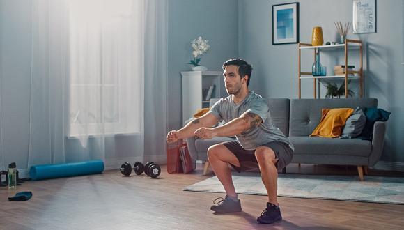 Cuatro ejercicios para realizar en casa y reforzar la salud
