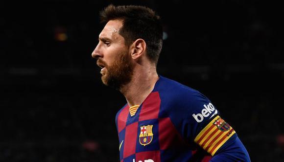 Lionel Messi tiene contrato hasta el 2021 con  FC Barcelona. (Foto: AFP)