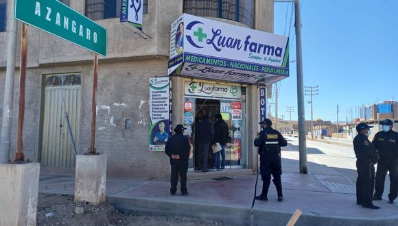 Algunos establecimientos vendían medicamentos adulterados, alterados y vencidos. (Foto: Difusión)