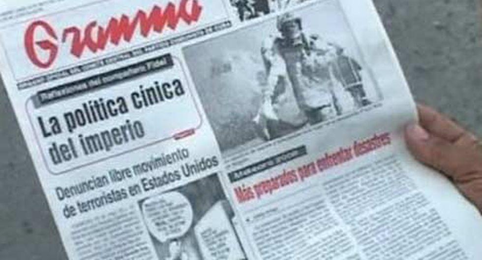 Chile califica de injuriosa publicación del diario cubano Granma