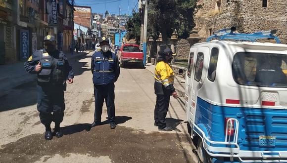 Decenas de mototaxis circulaban sin documentación en Juliaca