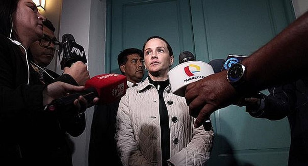 Fiscalía revisará celular de Luciana León el 26 de noviembre
