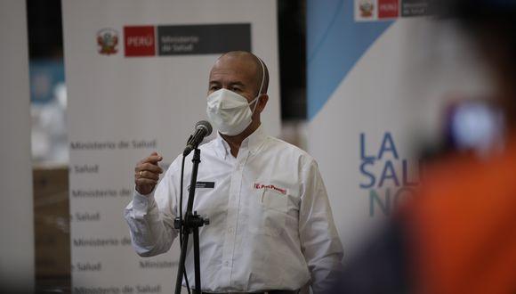 Víctor Zamora. (Foto: Anthony Niño de Guzman / GEC)