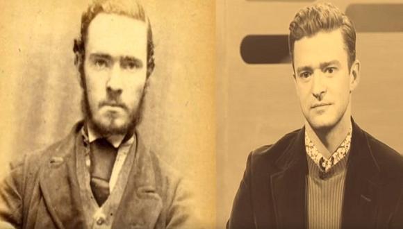 Justin Timberlake sorprendido al ver a su doble (VIDEO)