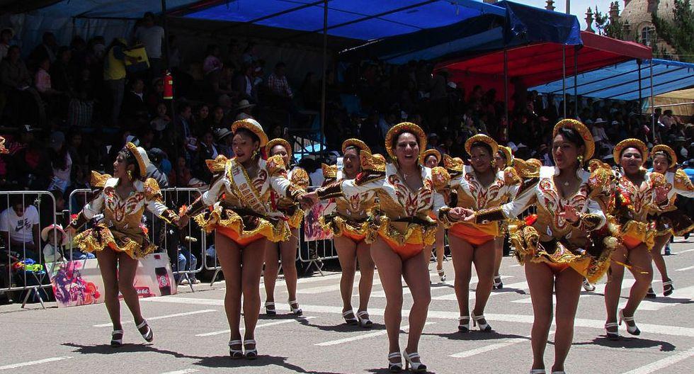 Parada cerró con broche de oro carnavales 2018 en Juliaca (FOTOS)
