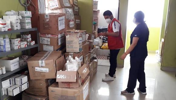Huánuco: Detectan medicamentos vencidos en almacén de Red de Salud de Leoncio Prado (Foto: Contraloría)