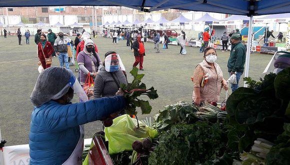 Se realizarán 21 mercados itinerantes hasta diciembre