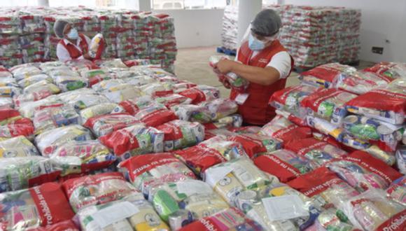 Para el apoyo a ollas comunes se ha asignado un presupuesto de S/ 21 millones. (Foto: Midis)