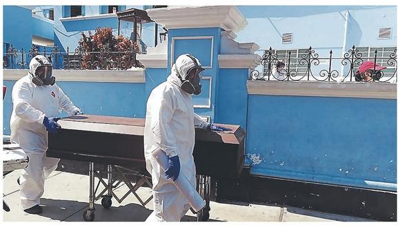 Cuatro decesos se registraron en el distrito de Trujillo y uno en el distrito de Chocope. (Foto: Correo)