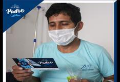 Pacientes con COVID-19 reciben homenaje por el Día del Padre en el Hospital Emergencias Ate Vitarte
