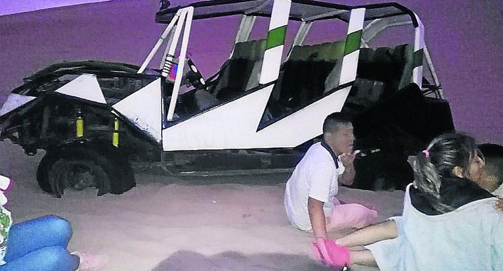 Siete turistas heridos tras nuevo accidente de tubular en la Huacachina