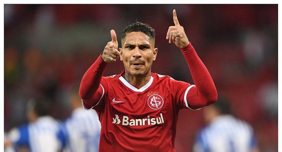 Paolo Guerrero anotó golazo en la victoria del Internacional en el Brasileirao (VIDEO)