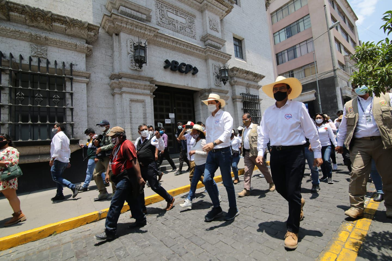 Martín Vizcarra en Arequipa  Foto: Leonardo Cuito