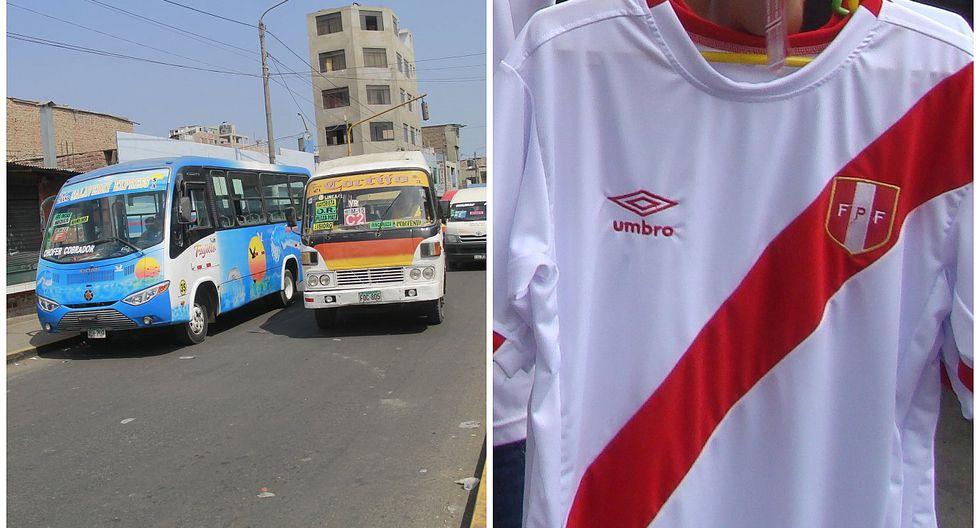 Decretan que transportistas deberán utilizar la camiseta de la Selección Peruana de Fútbol