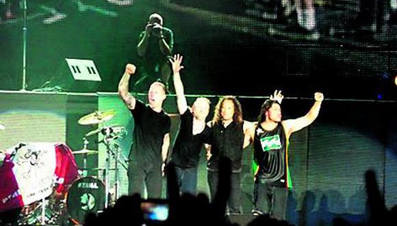 Metallica inicia el domingo su tour por Latinoamerica
