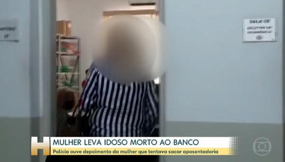 La identidad de la mujer no fue revelada por la policía de Brasil. | Foto: Captura de pantalla.