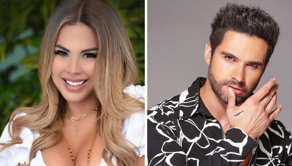 Eleazar Gómez le propuso matrimonio a Stephanie Valenzuela horas antes de agredirla. (Foto: Instagram / @tefivalenzuela / @eleazargomez333).