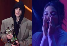 MTV VMAs: Justin Bieber y su tierno gesto con su esposa al triunfar como Mejor artista del año