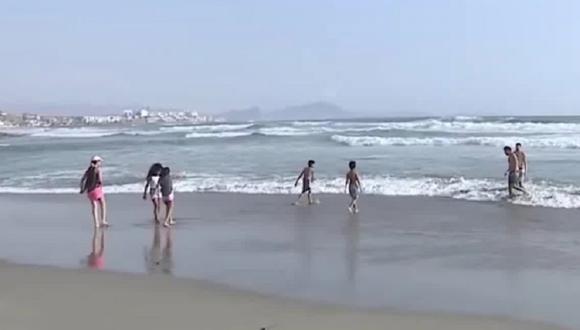 Playa Arica (Foto: Captura América Noticias)