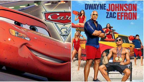 """""""Baywatch"""", """"Cars 3"""" y todos los estrenos de la cartelera (VIDEO)"""