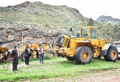 Hurtan tablero de tractor del Gobierno Regional de Huancavelica