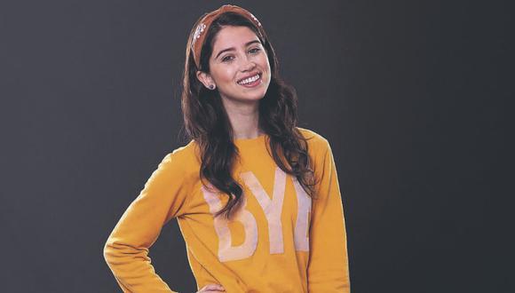 """La artista que da vida a Camila, en la telenovela """"Mi vida sin ti"""", analiza la coyuntura del país y las multitudinarias marchas juveniles."""