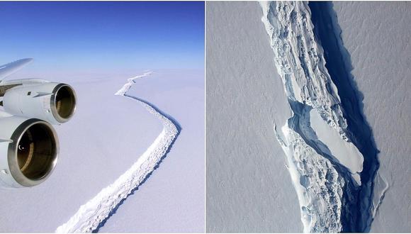 Antártida: Se desprende uno de los icebergs más grandes del mundo (VIDEO)