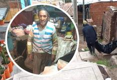 Anciano convivió cinco días con el cadáver de su esposa en Cusco (FOTOS)