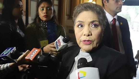 """Luz Salgado: En Fuerza Popular """"estamos conscientes de que vamos a perder una o dos"""" comisiones (VIDEO)"""