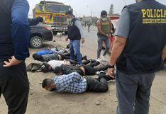 SMP: Policía captura a cinco presuntos extorsionadores