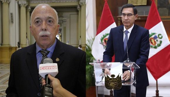 """Carlos Tubino: """"Asquea que para Vizcarra la prioridad del país es cerrar el Congreso"""""""