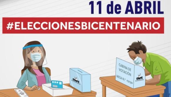 Las elecciones presidenciales en el Perú se llevarán a cabo el próximo domingo 11 de abril. Conoce tu local de votación AQUÍ (Foto: Andina)