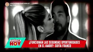 """Sofía Franco revela posible reconciliación con su esposo Álvaro Paz de la Barra: """"Tratando de arreglar las cosas"""""""