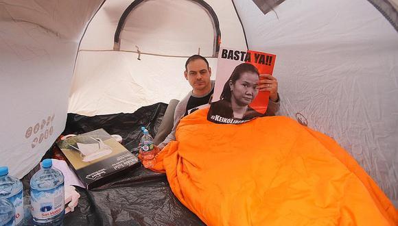 Mark Vito negó que la huelga de hambre sea un espectáculo