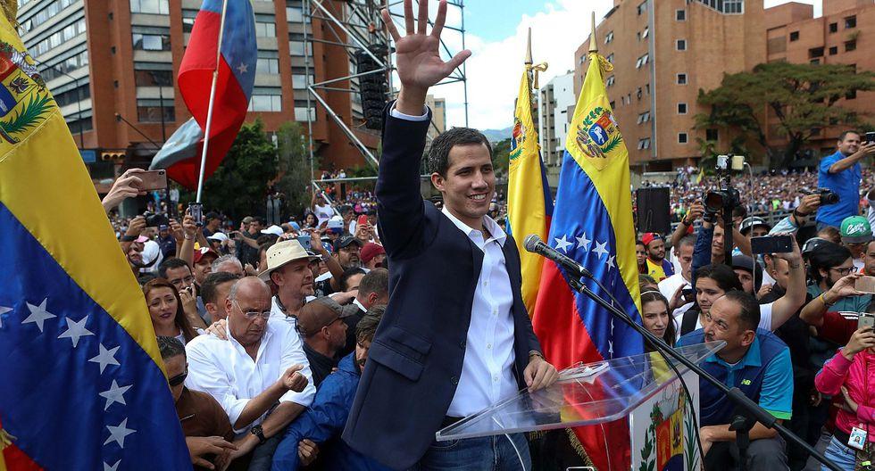 Crisis en Venezuela: Perú, Colombia, Brasil y Chile reconocen a Juan Guaidó como presidente interino