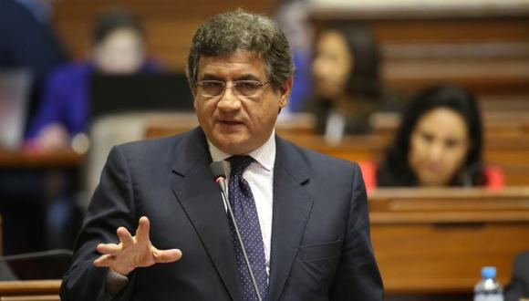 Solicitan que Juan Sheput, exministro de Trabajo, sea declarado como persona no grata.   Foto: Congreso.