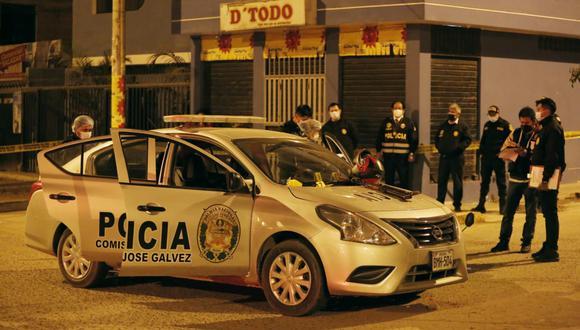 Dos agentes de la Policía Nacional del Perú (PNP) quedaron heridos esta madrugada en medio de una balacera ocurrida en Villa María del Triunfo. Fotos: César Grados /@photo.gec