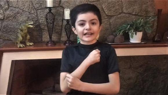 Niño de 9 años representa a Arequipa en concurso nacional