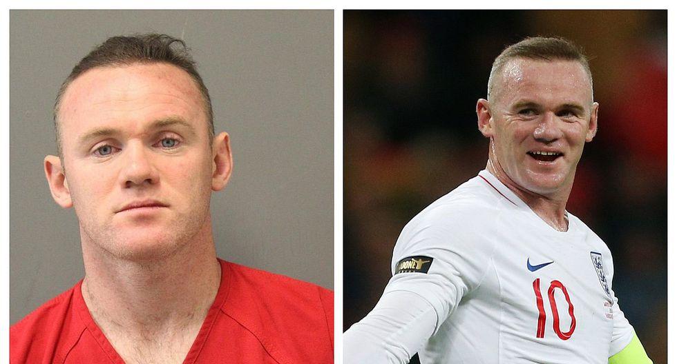 Revelan que Wayne Rooney fue arrestado en los Estados Unidos