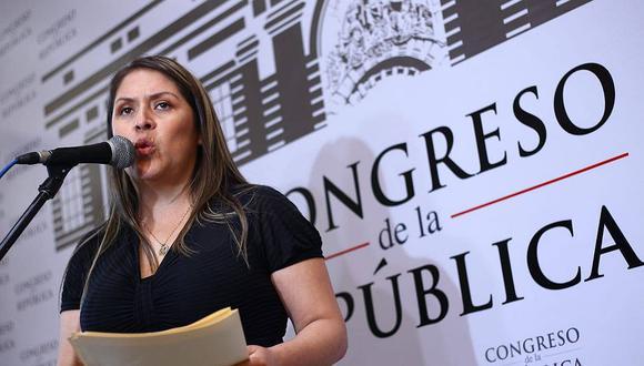 "Yeni Vilcatoma, la ""reina"" de las denuncias constitucionales"