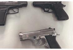 Tumbes: Incautan tres armas de fuego que iban como encomienda en ómnibus