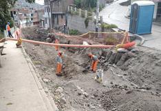 Defensoría advierte de riesgos y deficiencias en obra de drenaje pluvial en Carmen Alto