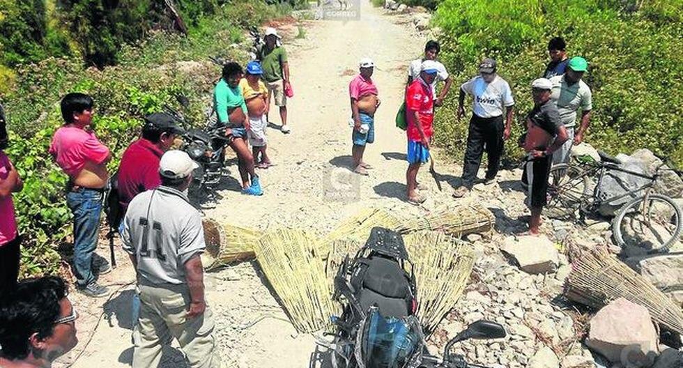 Envenenaron río Ocoña para extraer camarón en Urasqui