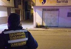 Arequipa: Anciano falleció cerca al hospital Yanahuara por falta de atención