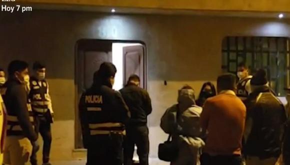 El fiscal ordenó esta mañana el levantamiento de los cadáveres. (Captura: América Noticias)