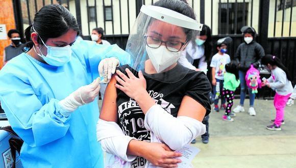 Mazzetti indicó que están listos para vacunar a la población en el primer trimestre del próximo año. (Foto: GEC)