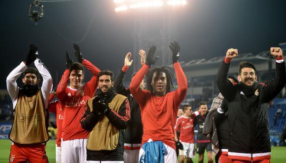 Champions League: Benfica clasificó a los cuartos de final