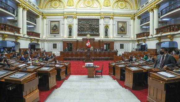 Tras las dos nuevas votaciones, el Congreso aprobó una cuestión previa para suspender el Pleno hasta este jueves 8 de julio. (Foto: Congreso de la República)