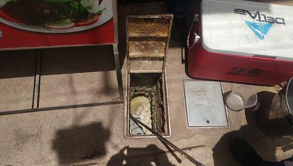 La inspección se realizó con el apoyo de una especialista del laboratorio Delta Lab S.A.C. (Foto: Difusión)