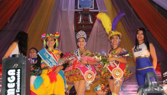 Puno: Ximena es la nueva Reina del Folklore 2014